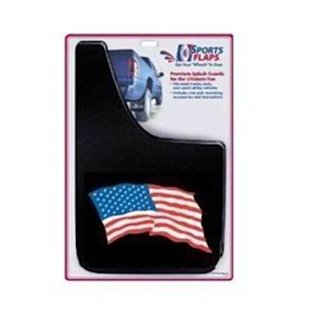 American flag mud flap