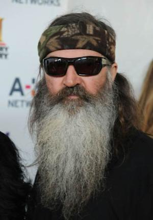 Phil Robertson attends the A+E Networks 2013 Upfront at Lincoln Center on May 8, 2013 in New York Cit -- Getty Images
