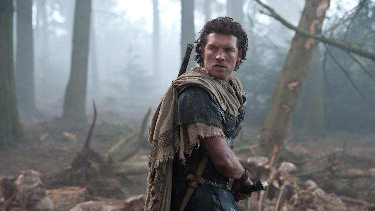 "In this film image released by Warner Bros., Sam worthington portrays Perseus in a scene from ""Wrath of the Titans."" (AP Photo/Warner Bros. and Legendary Pictures)"