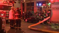 A fire broke out on the ground floor of the London Hotel in Vancouver the morning of Christmas Eve.
