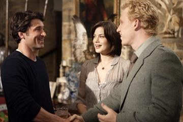 Patrick Dempsey , Michelle Monaghan and Kevin McKidd in Columbia Pictures' Made of Honor