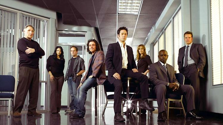 "The cast of ""Numb3rs."""