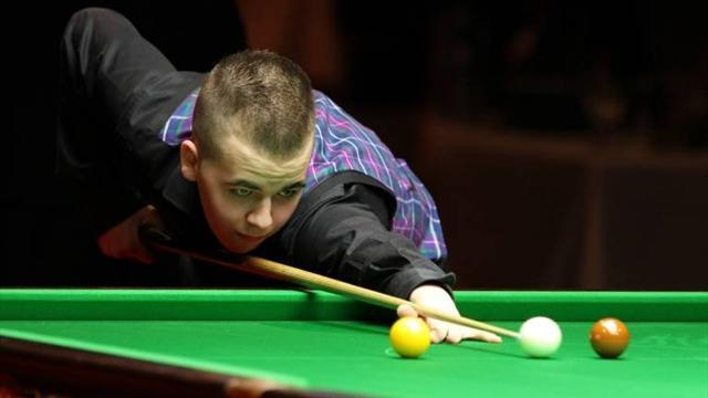 Snooker - Brecel makes three centuries in qualifying win