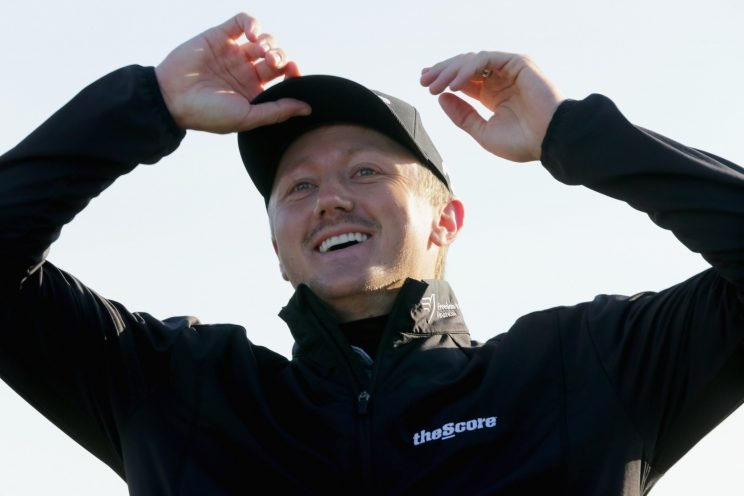 Mackenzie Hughes wins on the PGA Tour at Sea Island. (Getty Images)