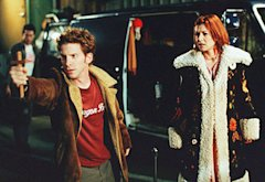 Seth Green and Alyson Hannigan | Photo Credits: Byron Cohen/20th Century Fox Television/The Kobal Collection