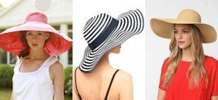 7 Floppy Summer Hats