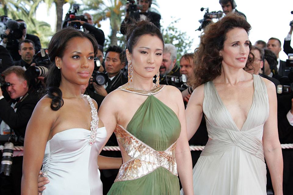 Gong Li Kerry Washington Andie MacDowell 2007