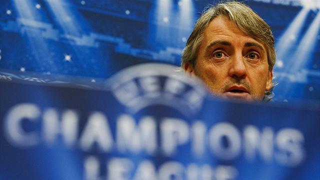 Champions League - Mancini angered by Monaco questions