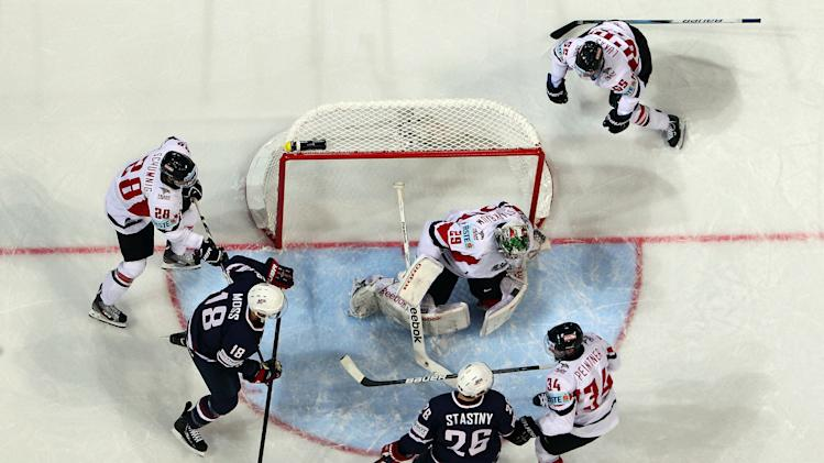 USA v Austria - 2013 IIHF Ice Hockey World Championship