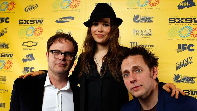 2011 SXSW Music and Film Festival Rainn Wilson Ellen Page James Gunn