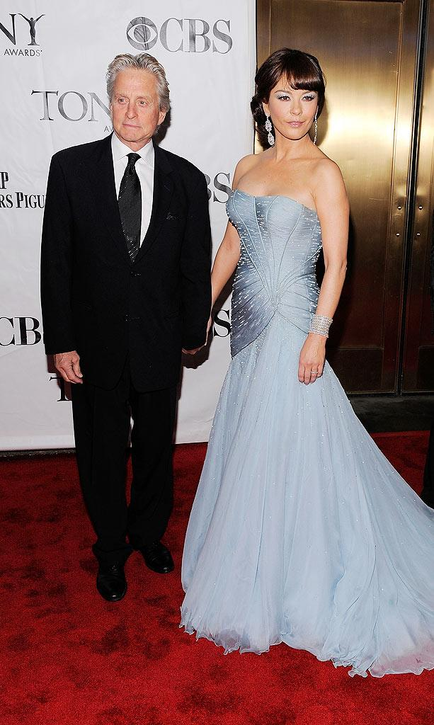 Douglas Zeta Jones Tony Awards