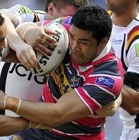 Kylie Leuluai has been charged with a grade B offence of punching during the victory over Wakefield
