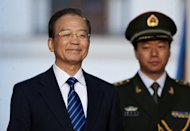China's Premier Wen Jiabao is seen in June 2012. Wen said on Saturday that China needed more policies to stabilise the country's exports, Dow Jones Newswires reported