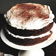 Our Cranberry Chocolate Cake recipe calls for Rummy Whipped Cream (yum).
