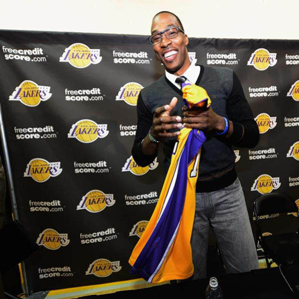 Los Angeles Lakers Introduce Dwight Howard Getty Images Getty Images Getty Images Getty Images Getty Images Getty Images Getty Images Getty Images Getty Images Getty Images Getty Images Getty Images G