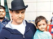 Aamir Khan's son imitates him