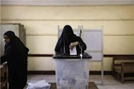 Voting for Egypt's constitution