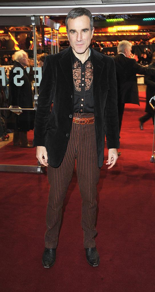 Nine UK Premiere 2009 Daniel Day Lewis