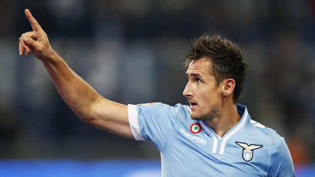 Serie A - Klose agent: No decision yet on striker's future