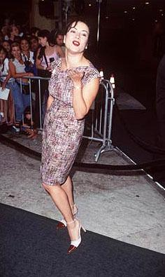 Jennifer Tilly at the Westwood premiere of Dreamworks' Saving Private Ryan