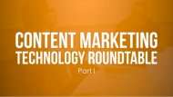 Choosing the Right Content Marketing Technology: 14 Critical Questions image right content technology decisions