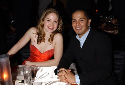 Erika Christensen and Jay Hernandez Elton John AIDS Foundtation In-Style Party Hollywood, CA 3/24/2002