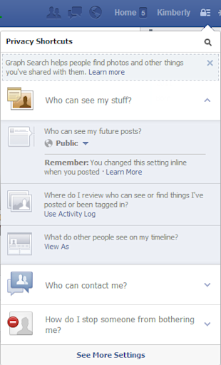 How To View Your Facebook Profile As Someone Else (Or As The Public Does) image facebook profile view as 2