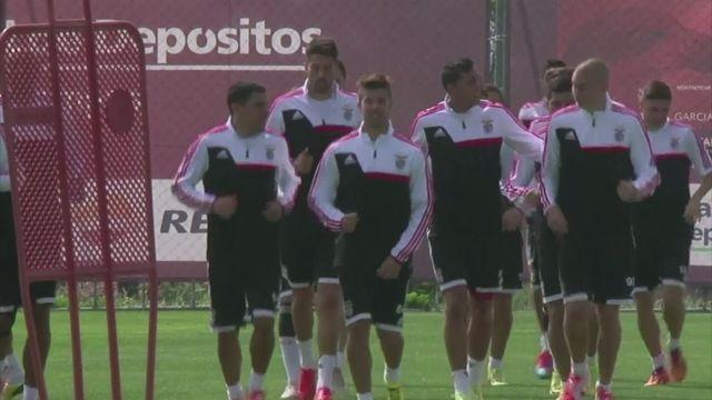 Benfica train ahead of Europa League semi-final