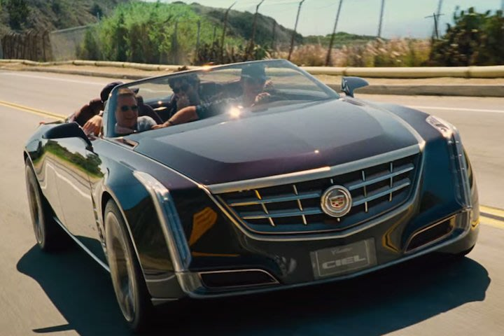 cadillac ciel gets a starring role in entourage movie yahoo finance canada. Black Bedroom Furniture Sets. Home Design Ideas