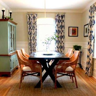 Stylish Dining Room on a Budget