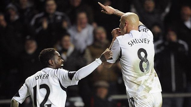 Jonjo Shelvey and Nathan Dyer, Swansea (Reuters)