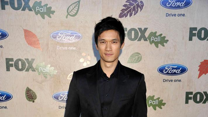 "Harry Shum Jr. of ""Glee"" arrives at the 2011 Fox Fall Eco-Casino Party at The BookBindery on September 12, 2011 in Culver City, California."