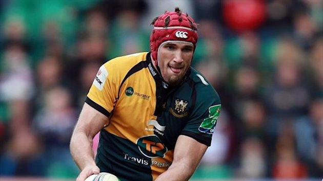 Christian Day scored two tries for Northampton