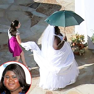 Gabourey Sidibe Pranks Jimmy Kimmel, Wears Bridal Gown to His Wedding