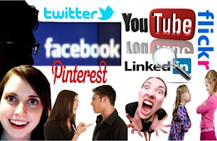 Trouble in Social Media Paradise image social media problem 600x391