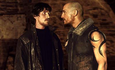 Christian Bale and Matthew McConaughey in Touchstone's Reign of Fire
