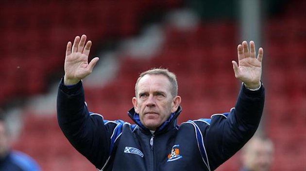 Killie boss Kenny Shiels had only just returned from a ban