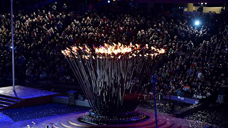 The Paralympic Cauldron has been lit and the Games are now open