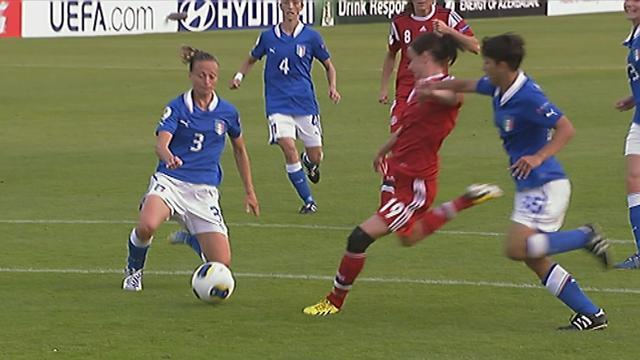 Women's Euro - Gabbiadini strikes as Italy down Denmark