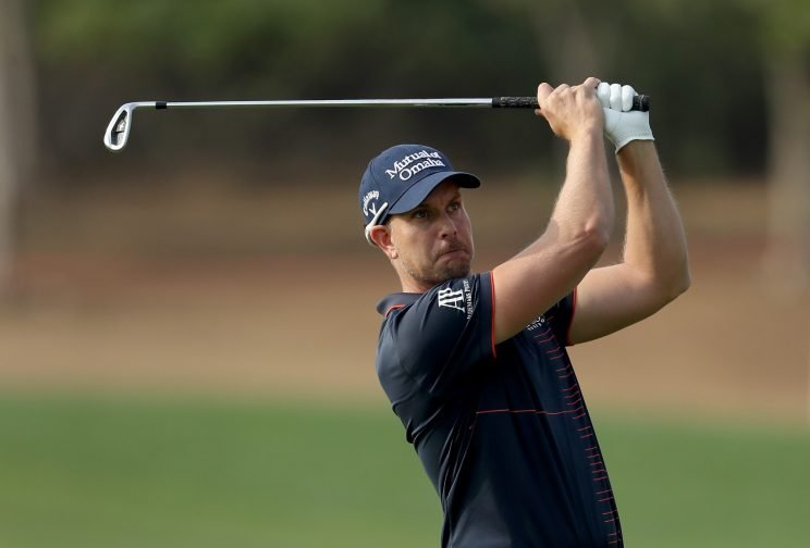 Henrik Stenson took charge on Day 1 in Abu Dhabi. (Getty Images)