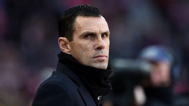 Gus Poyet, pictured, thought Joleon Lescott should have been sent off
