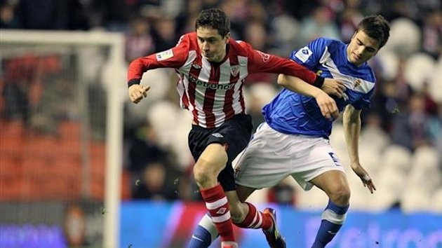 Athletic Real Oviedo Copa del Rey 2011-2012 Ander Herrera
