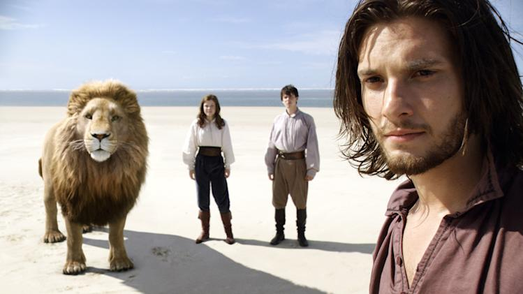 Chronicles of Narnia The Voyage of the Dawn Treader 2010 Fox Walden Georgie Henley Skandar Keynes Ben Barnes