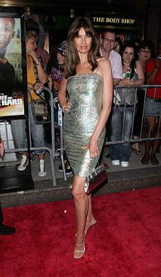 Carol Alt at the New York premiere of 20th Century Fox's Live Free or Die Hard