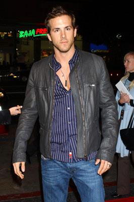 Ryan Reynolds at the Hollywood premiere of New Line Cinema's After the Sunset