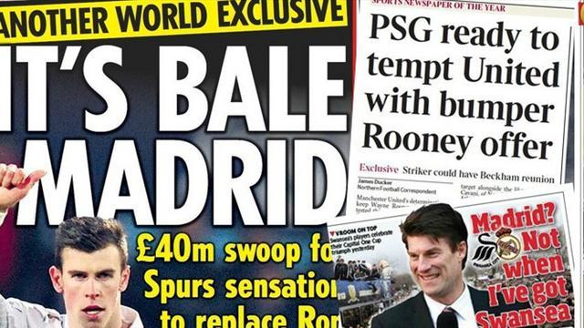 Premier League - Paper Round: PSG to make huge offer for Rooney