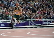 South Africa's Oscar Pistorius competes in the men's 400m heats at the London 2012 Olympics on August 4, 2012. Pistorius is one of the few athletes who has managed to bridge the divide between disabled and non-disabled sport, shattering myths and preconceptions along the way about the limits of human achievement