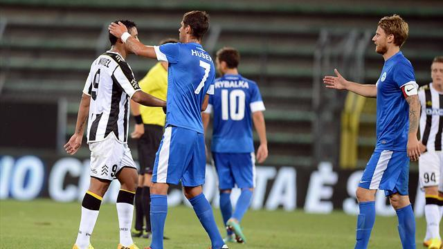 Europa League - Udinese crash out as Spaniards cruise through