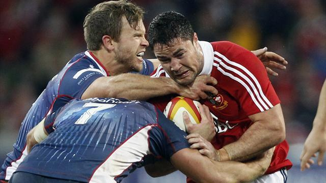 Lions Tour - The Lions shut out Rebels in final midweek match