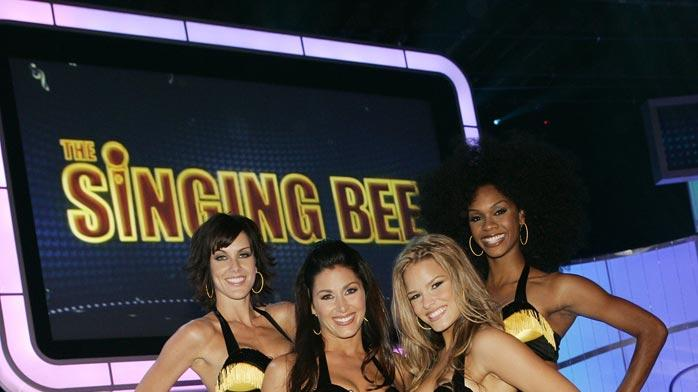 The Honey Bee Dancers in The Singing Bee.